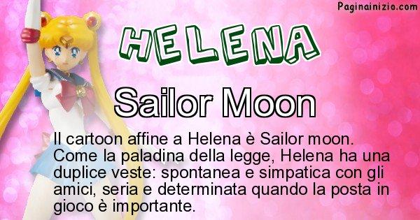 Helena - Personaggio dei cartoni associato a Helena