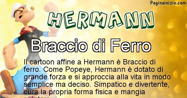 Hermann - Personaggio dei cartoni associato a Hermann