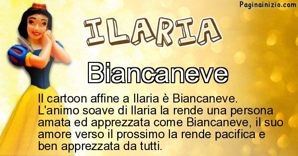 Ilaria - Personaggio dei cartoni associato a Ilaria