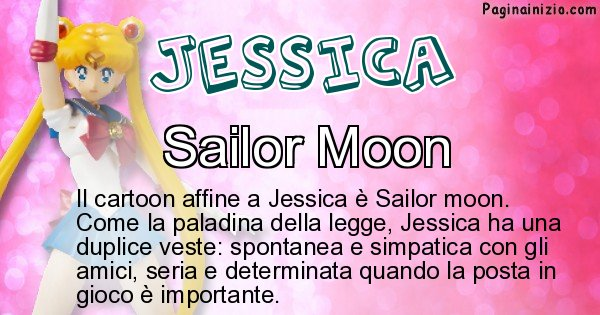 Jessica - Personaggio dei cartoni associato a Jessica