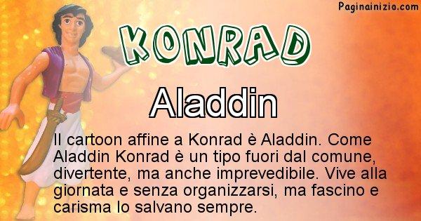 Konrad - Personaggio dei cartoni associato a Konrad