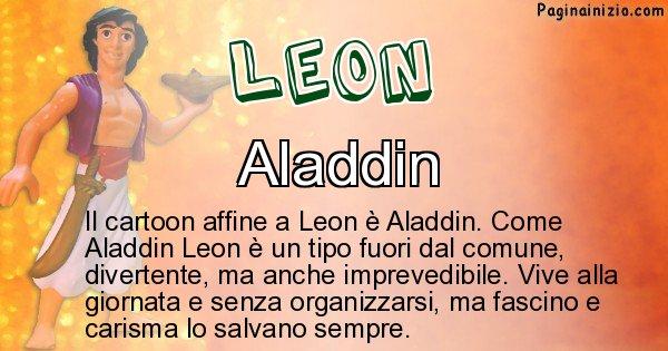 Leon - Personaggio dei cartoni associato a Leon