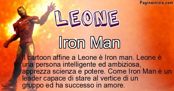 Leone - Personaggio dei cartoni associato a Leone