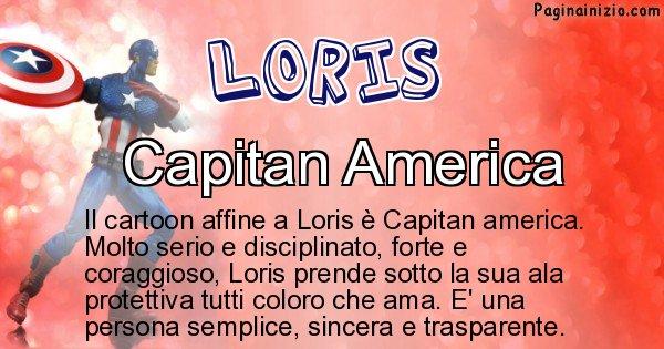 Loris - Personaggio dei cartoni associato a Loris