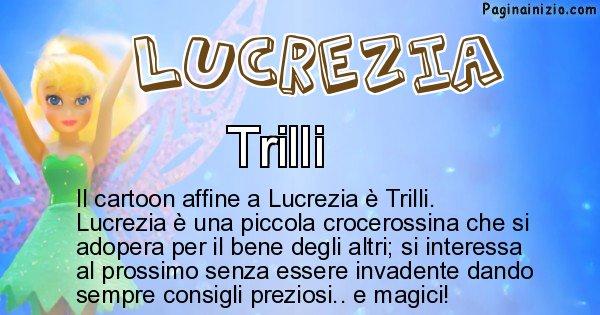 Lucrezia - Personaggio dei cartoni associato a Lucrezia