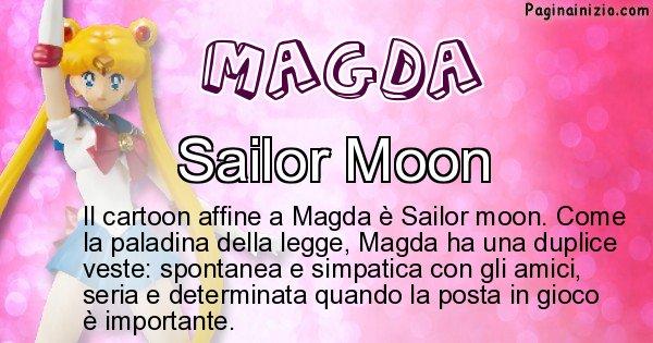 Magda - Personaggio dei cartoni associato a Magda