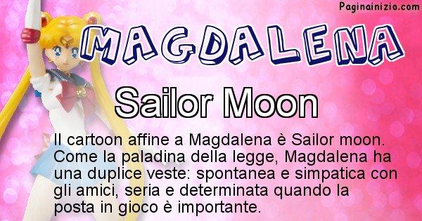 Magdalena - Personaggio dei cartoni associato a Magdalena