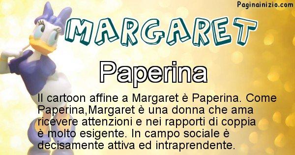Margaret - Personaggio dei cartoni associato a Margaret