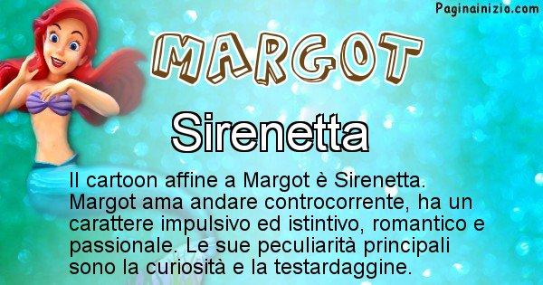 Margot - Personaggio dei cartoni associato a Margot