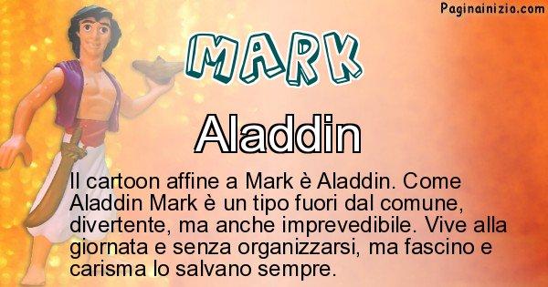 Mark - Personaggio dei cartoni associato a Mark