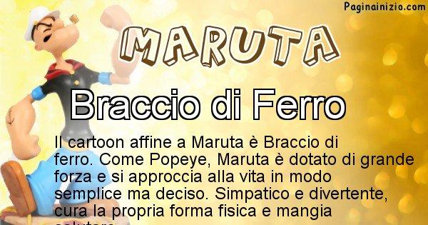 Maruta - Personaggio dei cartoni associato a Maruta
