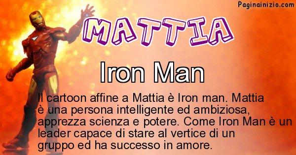 Mattia - Personaggio dei cartoni associato a Mattia