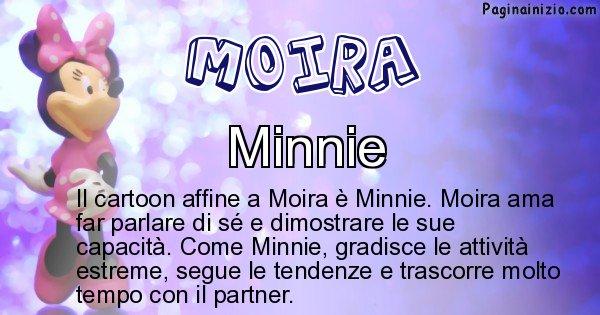Moira - Personaggio dei cartoni associato a Moira