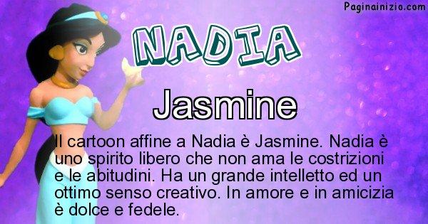 Nadia - Personaggio dei cartoni associato a Nadia