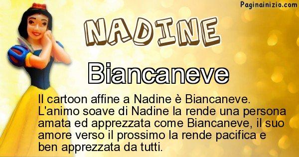Nadine - Personaggio dei cartoni associato a Nadine