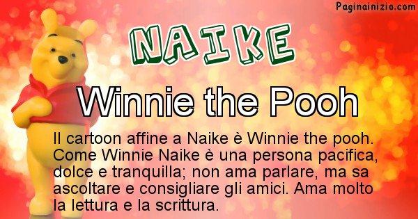 Naike - Personaggio dei cartoni associato a Naike