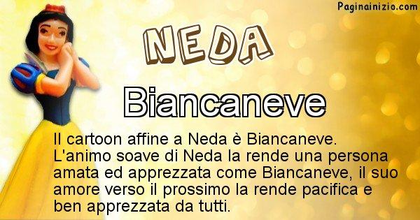 Neda - Personaggio dei cartoni associato a Neda