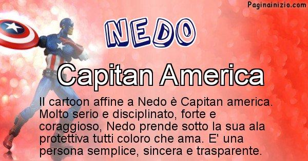 Nedo - Personaggio dei cartoni associato a Nedo