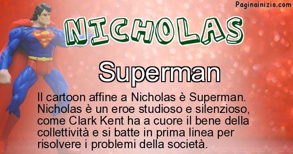 Nicholas - Personaggio dei cartoni associato a Nicholas