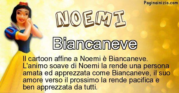 Noemi - Personaggio dei cartoni associato a Noemi