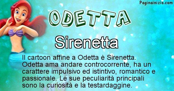 Odetta - Personaggio dei cartoni associato a Odetta