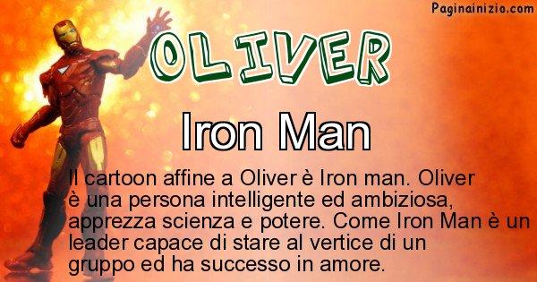 Oliver - Personaggio dei cartoni associato a Oliver