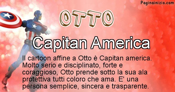 Otto - Personaggio dei cartoni associato a Otto