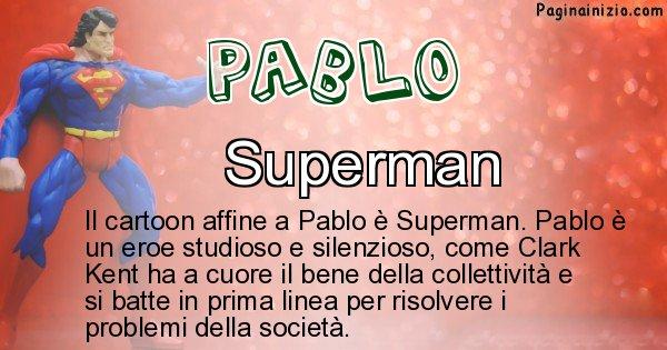 Pablo - Personaggio dei cartoni associato a Pablo