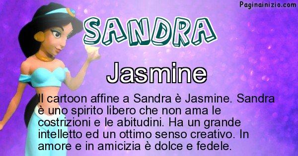 Sandra - Personaggio dei cartoni associato a Sandra