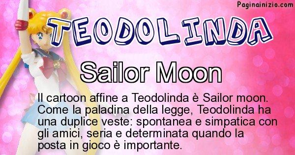 Teodolinda - Personaggio dei cartoni associato a Teodolinda