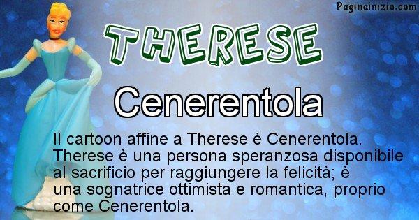 Therese - Personaggio dei cartoni associato a Therese