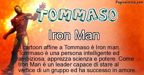 Tommaso - Personaggio dei cartoni associato a Tommaso