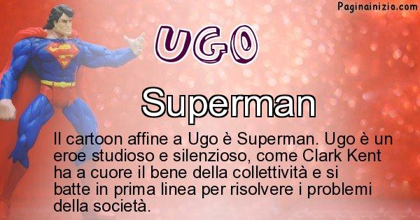 Ugo - Personaggio dei cartoni associato a Ugo