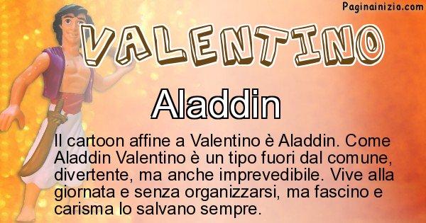 Valentino - Personaggio dei cartoni associato a Valentino