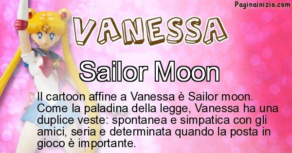 Vanessa - Personaggio dei cartoni associato a Vanessa
