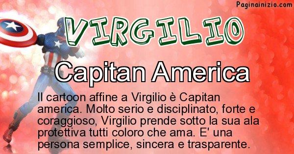 Virgilio - Personaggio dei cartoni associato a Virgilio