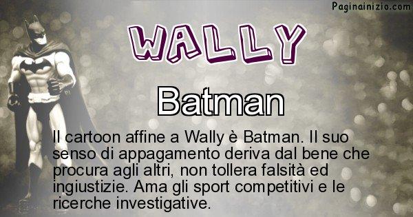 Wally - Personaggio dei cartoni associato a Wally