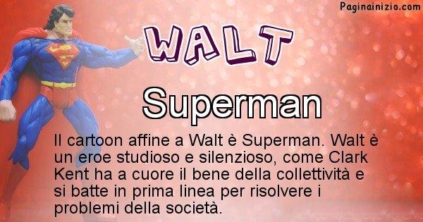 Walt - Personaggio dei cartoni associato a Walt