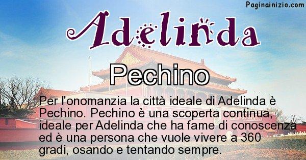 Adelinda - Città ideale per Adelinda