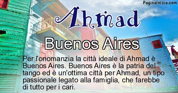 Ahmad - Città ideale per Ahmad