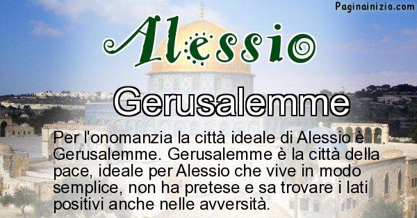 Alessio - Città ideale per Alessio