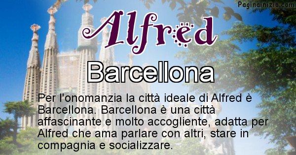 Alfred - Città ideale per Alfred