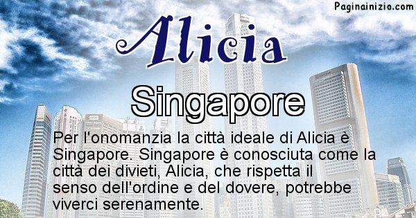 Alicia - Città ideale per Alicia