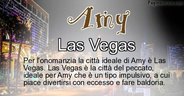 Amy - Città ideale per Amy