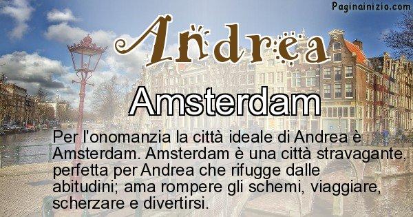 Andrea - Città ideale per Andrea