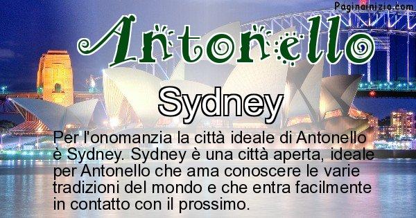 Antonello - Città ideale per Antonello