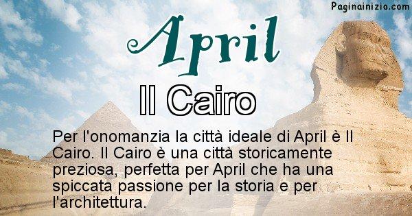 April - Città ideale per April