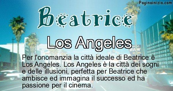 Beatrice - Città ideale per Beatrice