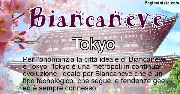 Biancaneve - Città ideale per Biancaneve