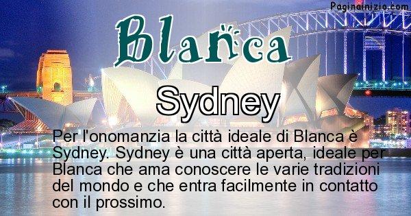 Blanca - Città ideale per Blanca